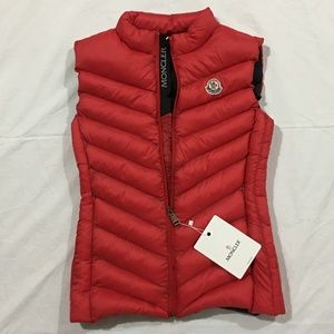 Moncler Jackets & Coats - Women's Moncler Red Vest